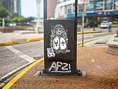 dolos Urbanos (EduardoEquis) Tags: street city urban art graffiti calle arte ciudad idol urbano maracaibo dolo