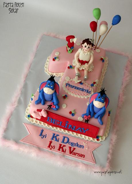 1 yaş pastası eyore- belinay