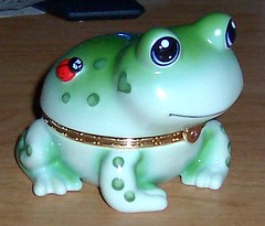The Bradford Exchange - Frog Music Box by KenCalvino