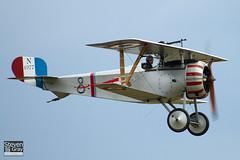 G-BWMJ - PFA 121-12351 - Private - Nieuport 17 Scout Replica - 110710 - Duxford - Steven Gray - IMG_8702