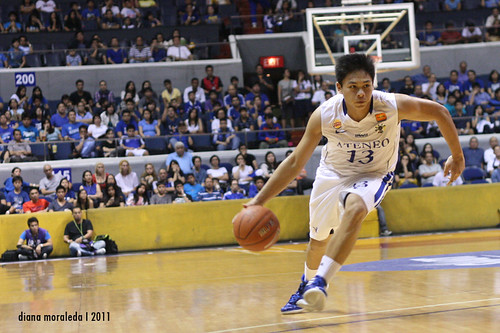 UAAP Season 74: Ateneo Blue Eagles vs. NU Bulldogs, September 3, 2011