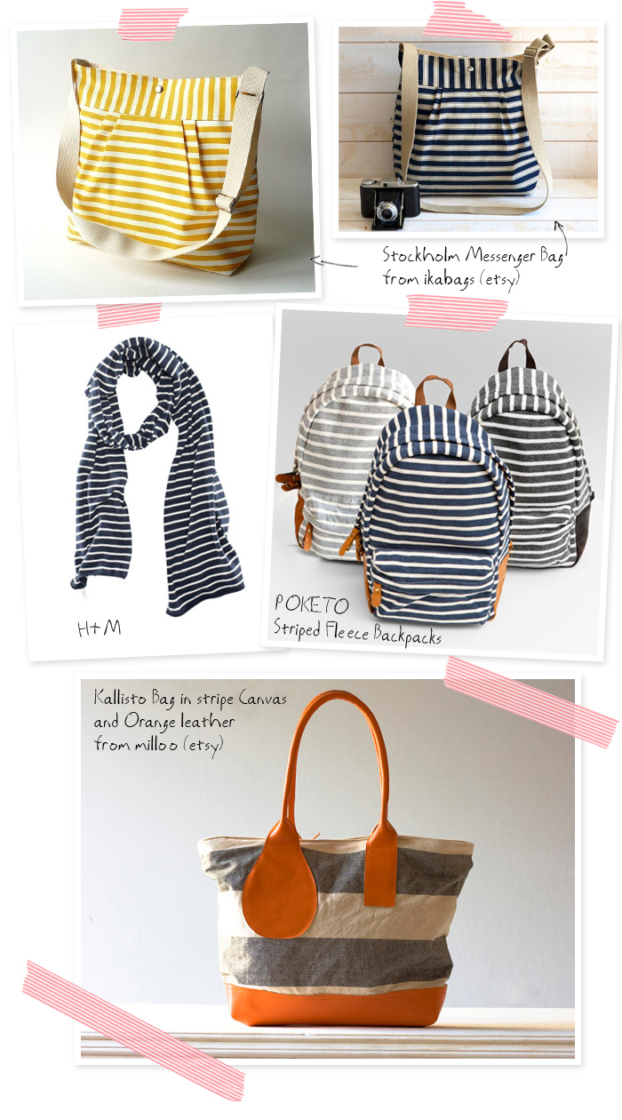 Getting ready for Fall...with Stripes