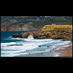 A fortaleza ... (juntos ( MOSTLY OFF)) Tags: sea praia portugal relax friendship top fave harmony fortaleza chapeau excellent goodmorning happytimes vernissage magical guincho cascais oe musictomyeye