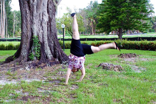 Birthday Cartwheel