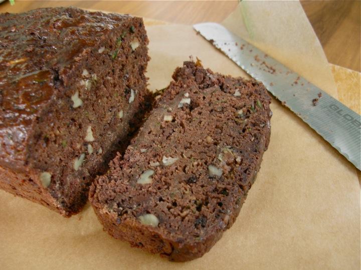 chocolate zucchini cake 002