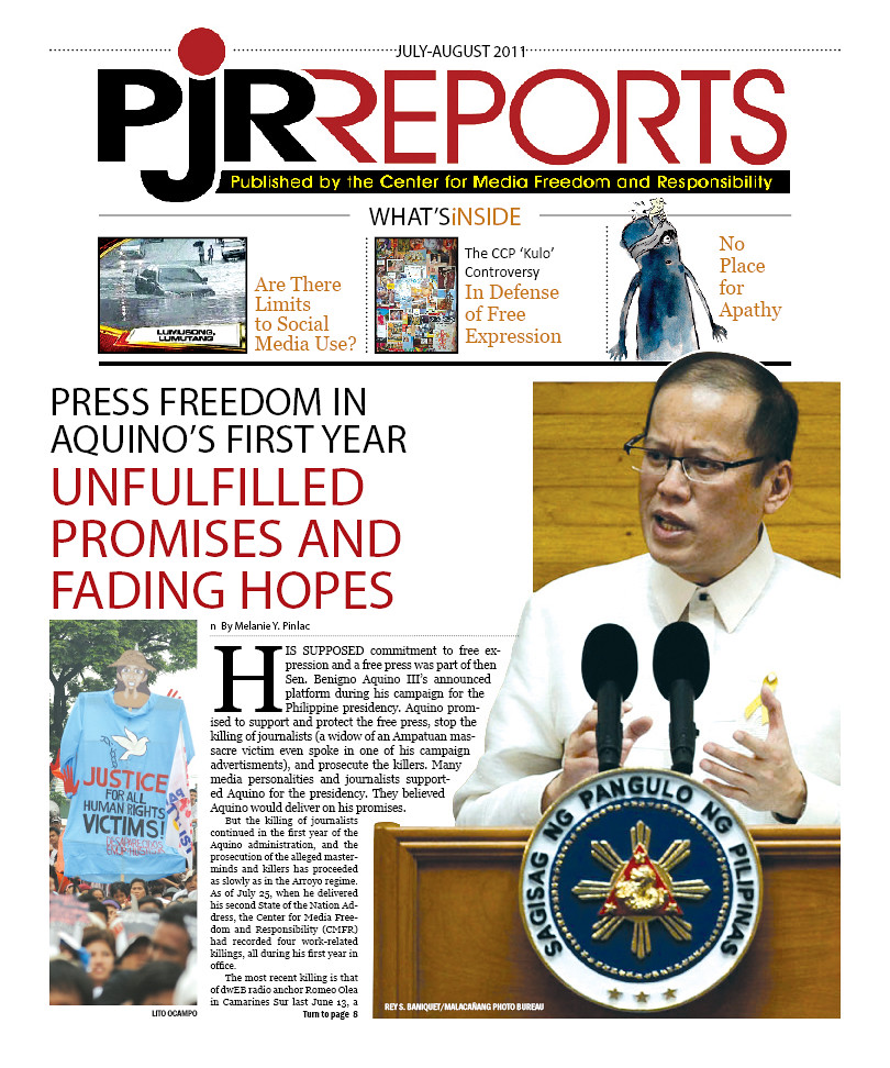 PJR Reports July-August 2011