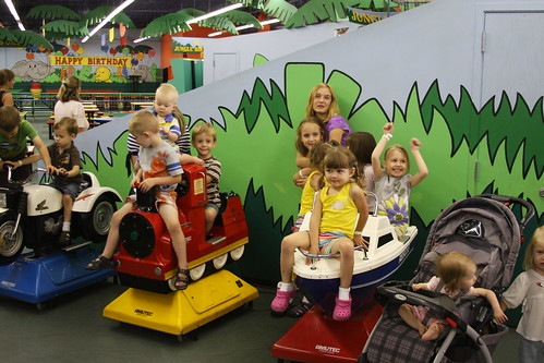 All the kids, Jungle Jims August 2011