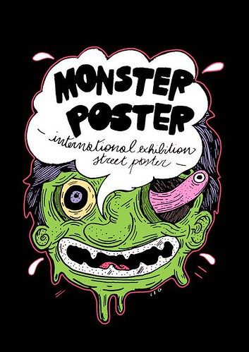 ///_Monster Poster_\\\ by STENCILNOIRE