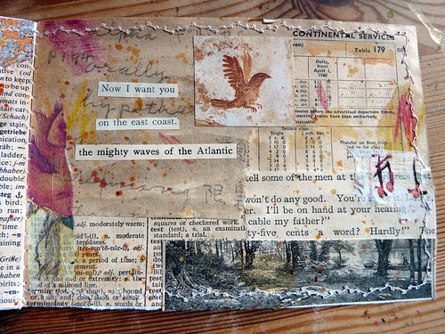 Mini Collage Book Sun & Moon 5