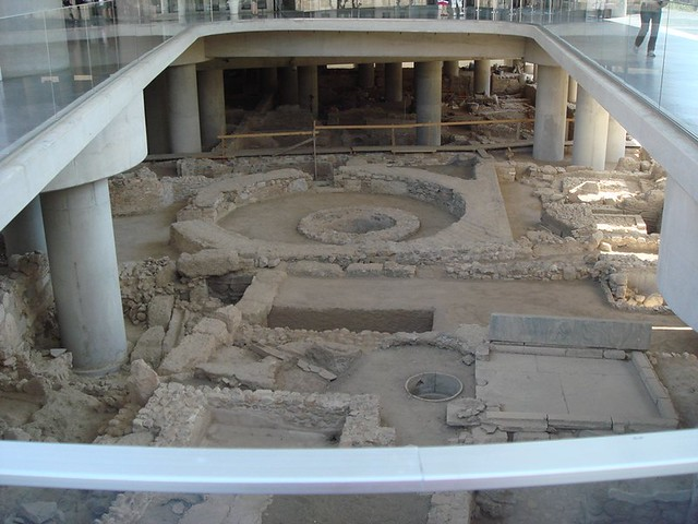 at the Acropolis Museum