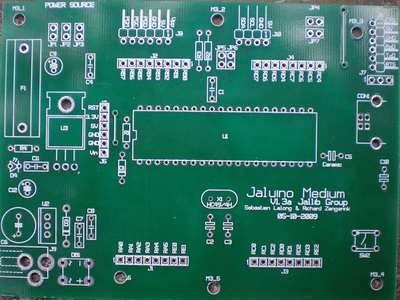 Jaluino PCB Front