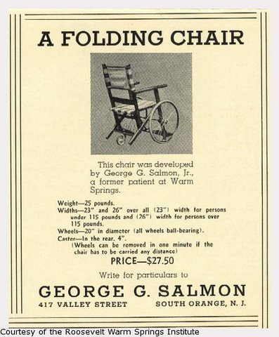 Salmon folding chair the Policy Chronicle