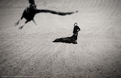 Was it a dream? (etto - ettone) Tags: black dark emotion fear silk land crow