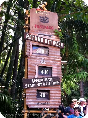Indiana Jones FASTPASS