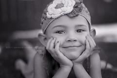 Elfie (Didenze) Tags: portrait girl monochrome closeup pretty child naturallight elf 18 canon450d didenze