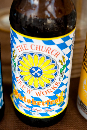 Church Brew Works Beer at Bocktown's Localfest