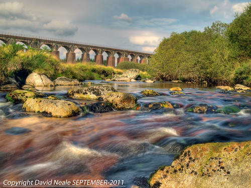 Rapids and Viaduct - Big Water of Fleet by Daveyboy_75