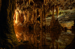 Dream Lake 2 ((Alex) It's my whole damn raison d'etre!) Tags: lake mirror virginia nikon caverns luray hdr stalactites stalagmites tonemapped d300s thechallengefactory yahoo:yourpictures=reflections yahoo:yourpictures=cavern yahoo:yourpictures=elements