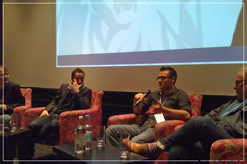 The Establishing Shot This Week : QA with Sean Ellis, Angus Hudson & Michael Dixon after Cashback Screening, Soho Hotel - From iPhone by Craig Grobler