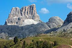 (Marco Tassi) Tags: italy panorama mountain mountains cortina montagne italia day clear alpi montagna paesaggio dolomites dolomiti cima cime dolomiten dampezzo averau dolomia canon40d