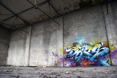 Monchengladbach, Germany 2011 (Digitaldoes) Tags: family holland abandoned love digital germany graffiti team artist factory letters australia f1 crew does ll loveletters dieci ironlak digitaldoes diecidoes