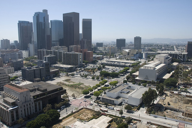 D5 downtown LA from city hall