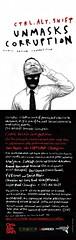Ctrl.Alt.Shift Unmasks Corruption E-Flyer (fourteenten) Tags: comic ctrlaltshift corruptionunmaskscorruption