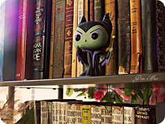 The Ruler of My Bookshelf (Game of Fate) Tags: green fairytale toy witch evil disney pop queen sleepingbeauty disneystore funko dustbunny maleficent antiquebooks disneyvillain judybolton disneycollection gameoffate funkopop funkopopvinyltoy villaindisney judyboltoncollection