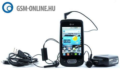 LG Optimus One tartozékok
