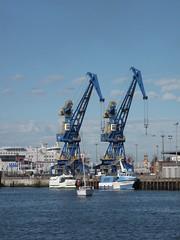 CALAIS - Blue Sky, Blue Water, Blue Cranes