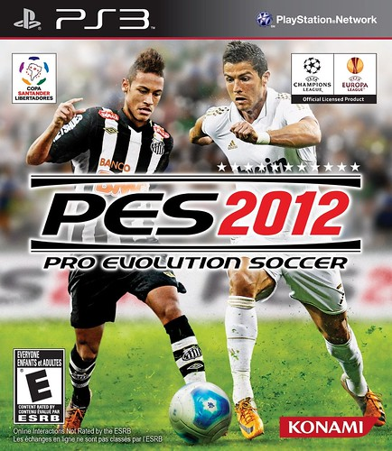Capa de Pro Evolution Soccer 2012 para PS3