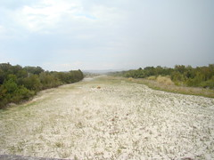 What remains of the Nueces River, at Laguna