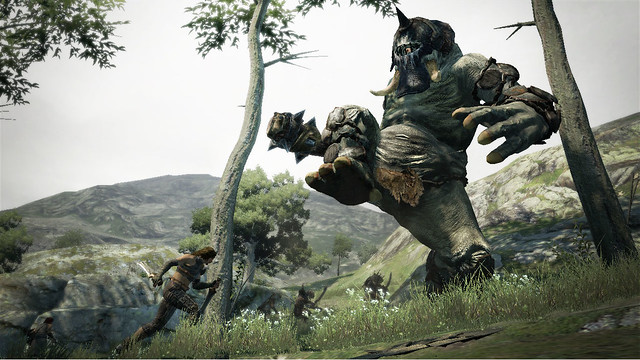 Shoot A Cyclops In Its One Eye In New Dragon's Dogma TGS Trailer (3)