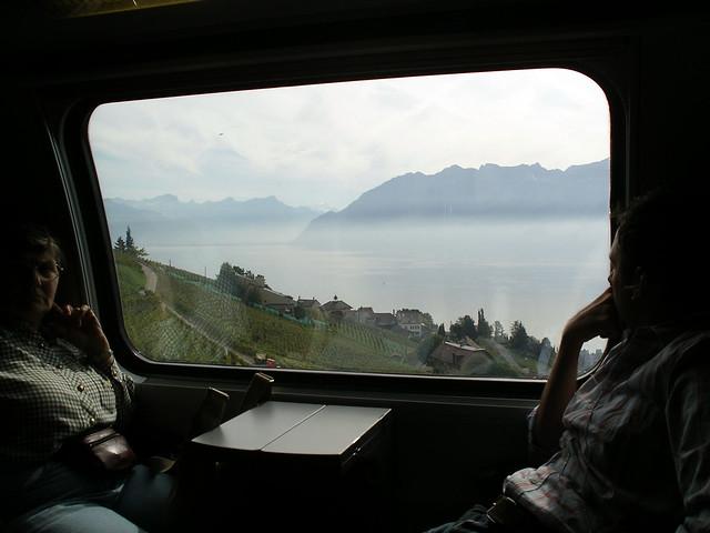 Lavaux iz vlaka