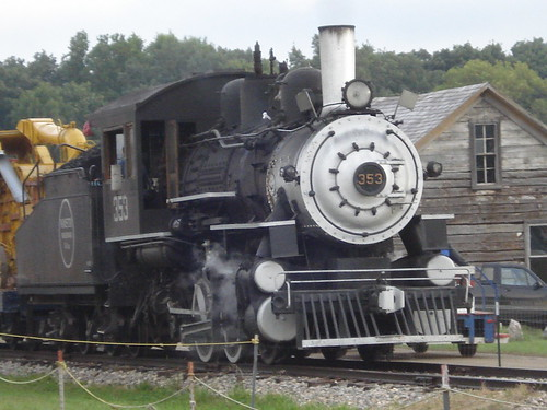 Steam train at WMSTR