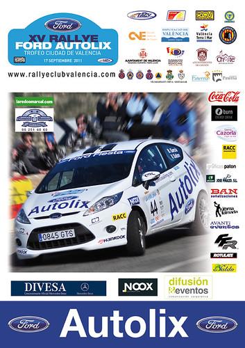 15º Rallye Ford Autolix-Trofeo Ciudad de Valencia