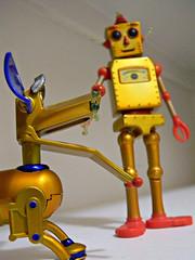 Fetch! (Pfish44) Tags: toys robots fetch ihope scavengechallenge exaggeratedsize