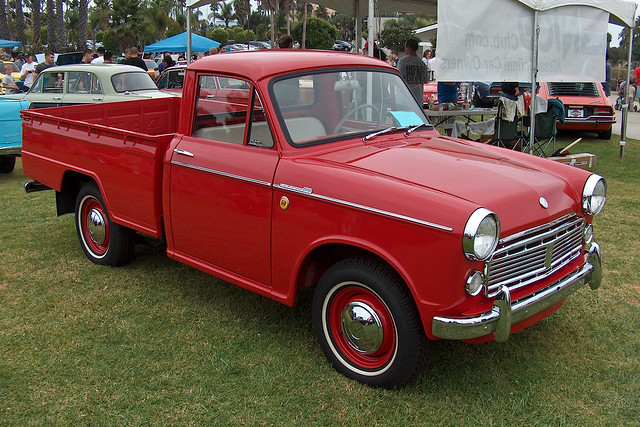 red cars truck nissan pickup longbeach 60hp datsun 320 1963 carshows queenmaryeventspark 7thannualjapaneseclassiccarshow
