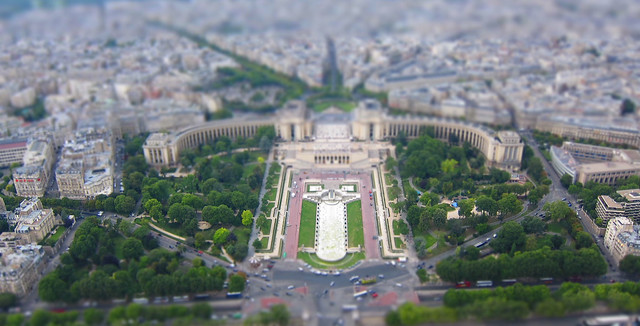 Trocadéro in Mini Mode