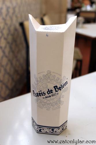 A box of Pastéis de Belém, Pastéis de Belém