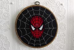 The Amazing Spider-Man (stitchFIGHT) Tags: crossstitch cross stitch embroidery spiderman marvel xstitch