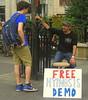 Hypnosis (SHOTbySUSAN) Tags: nyc ny newyork manhattan streetscene unionsquare streetvendor hypnosis nycparks shotbysusan