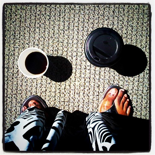 a double-fisted half-caff type of day... by credd