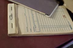 Order slip (Fauxlaroid) Tags: swords armsarmor