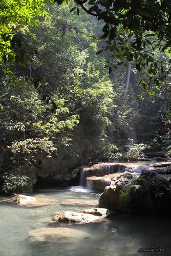 Kanchanaburi : Erawan waterfall