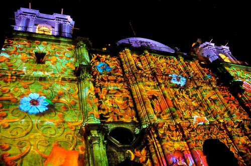 Espectáculo Multimedia Catedral Oaxaca (12)