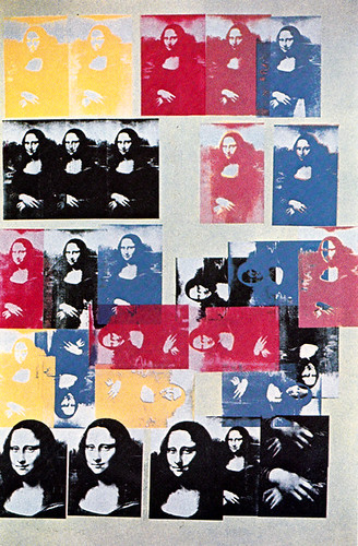 Mona Lisa by Andy Warhol, 1963.
