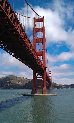 View of the GG Bridge from Fort Point