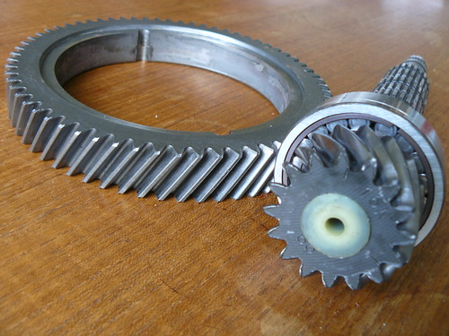S2 Rallye Crown Wheel and Pinion
