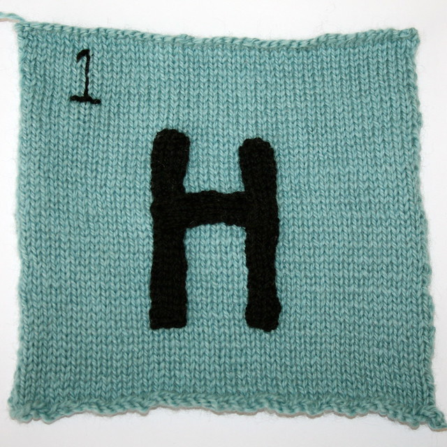 Hydrogen for Knitted Periodic Table